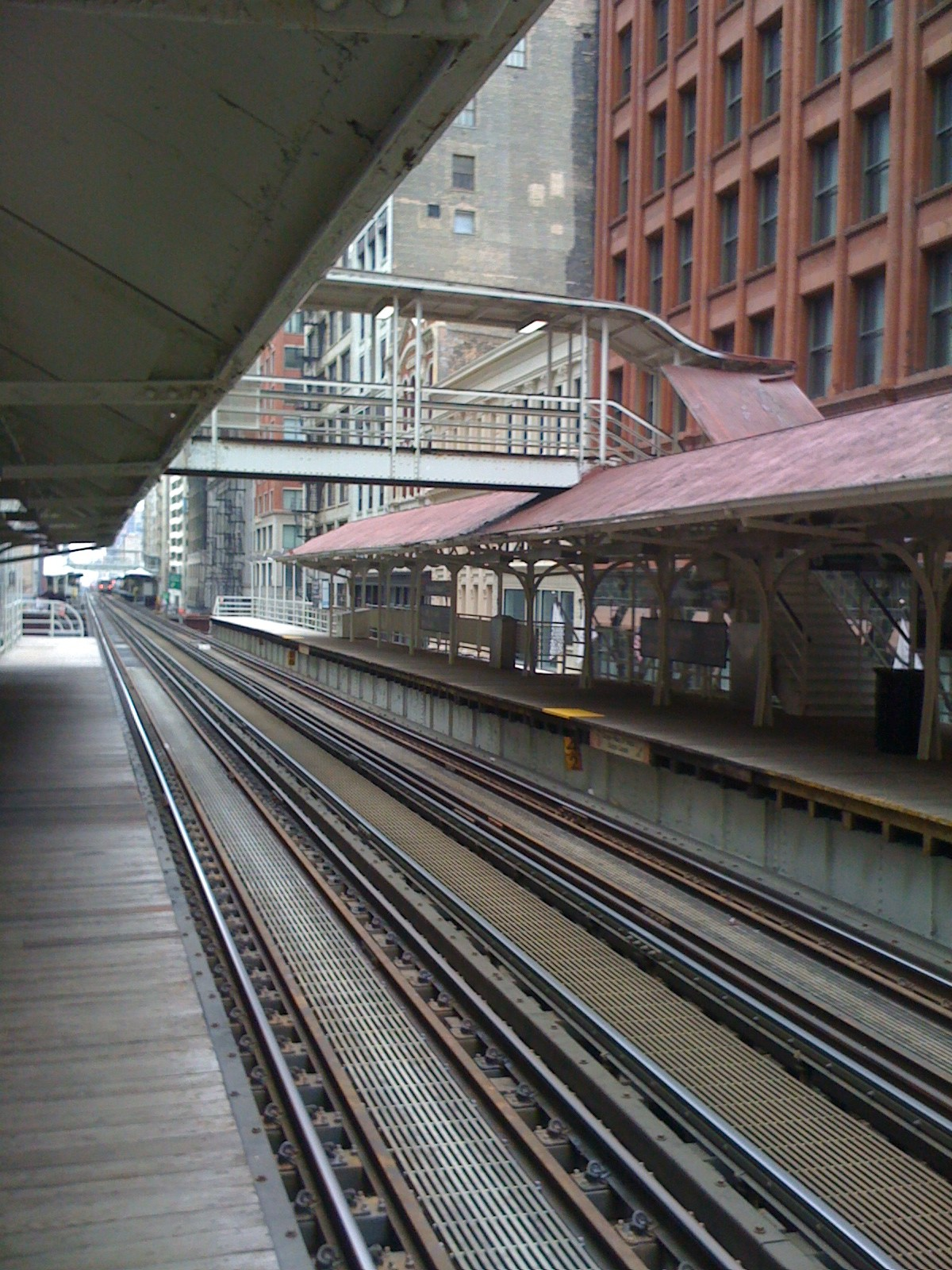 Madison and Wabash Chicago EL stop