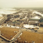 Museum of Science and Industry, Jackson Park, and Lake Michigan