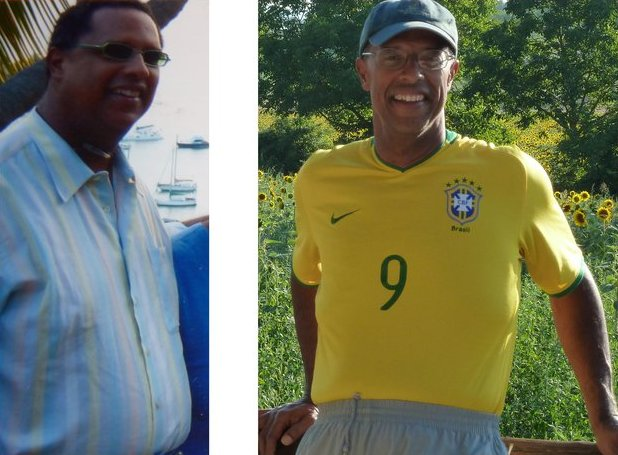 Dr. John Ellis before and after weight loss
